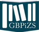 Logotyp Głównej Bibioteki Pracy i Zabezpieczenia Społecznego