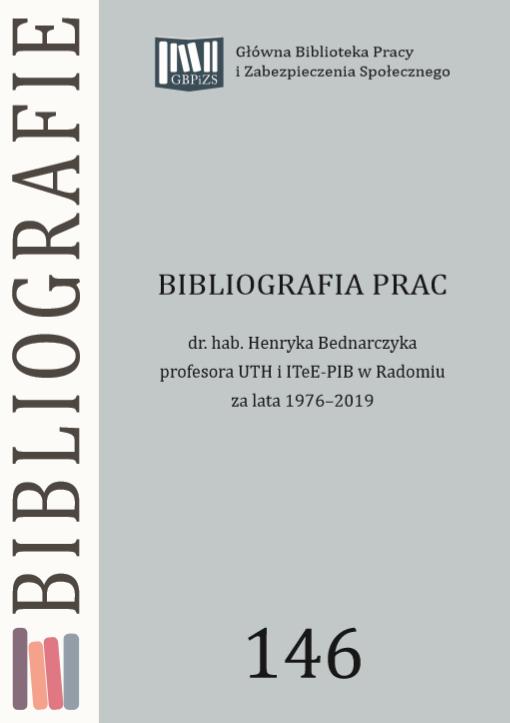 Okładka bibliografii